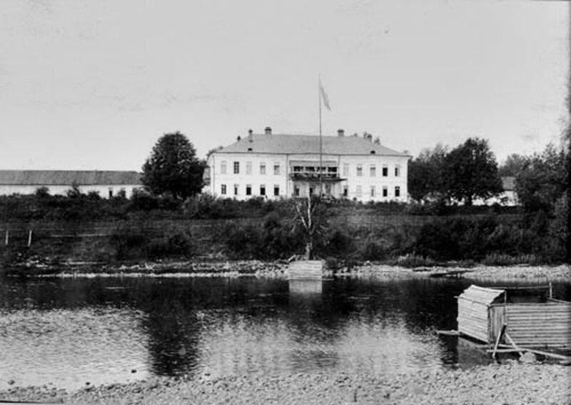 Усадьба Ровное. Старые фото