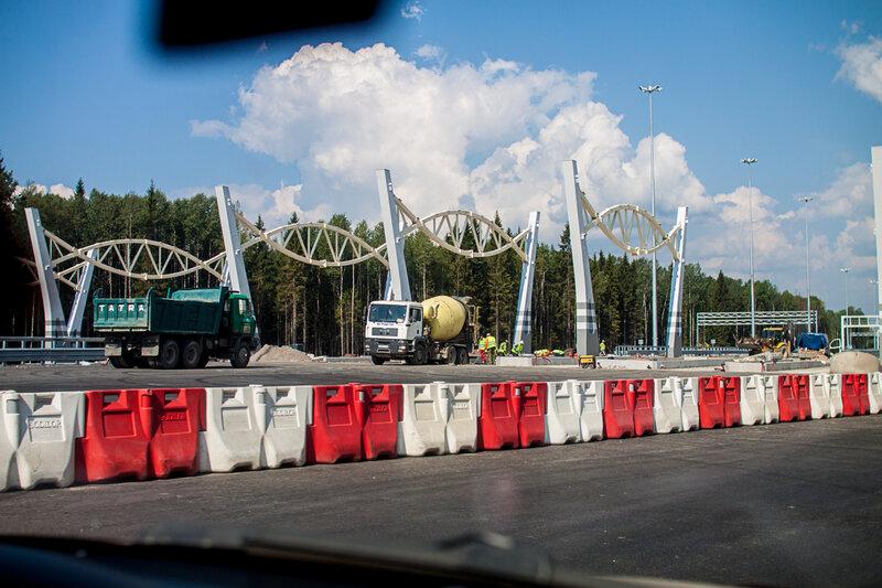 Западный Скоростной Диаметр. Санкт-Петербург. Фото: © Павел 'PaaLadin' Семёнов