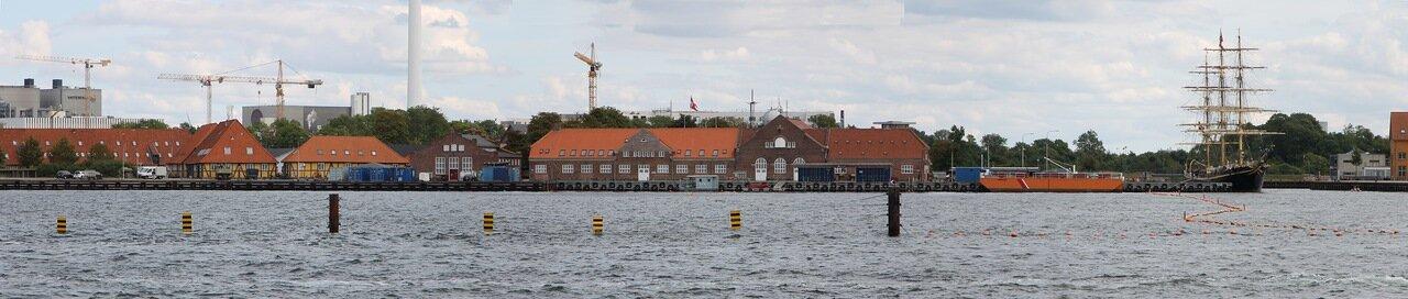 Копенгаген. Старая гавань, panorama