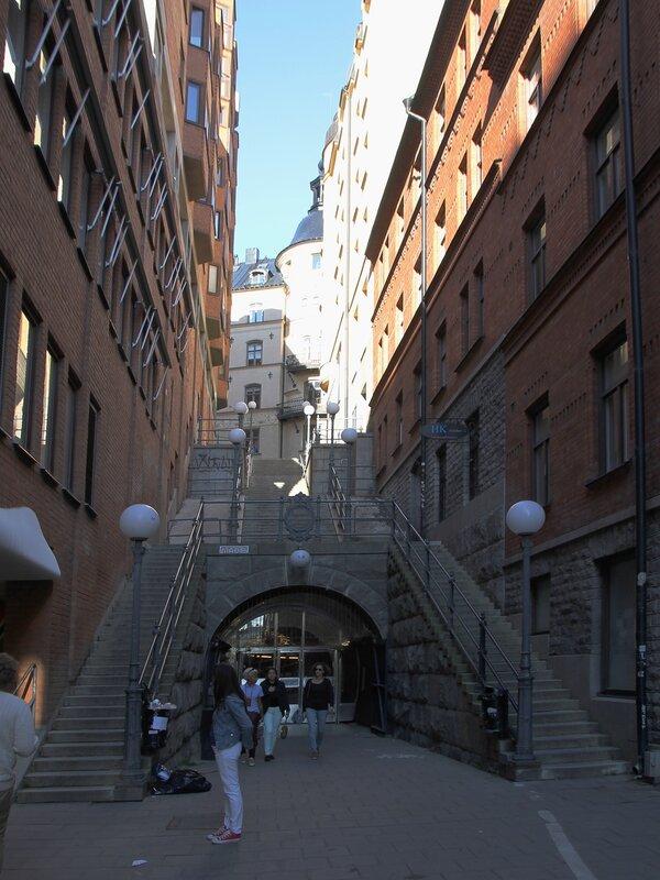 Стокгольм, Stockholm, Туннельгатан Tunnelgatan