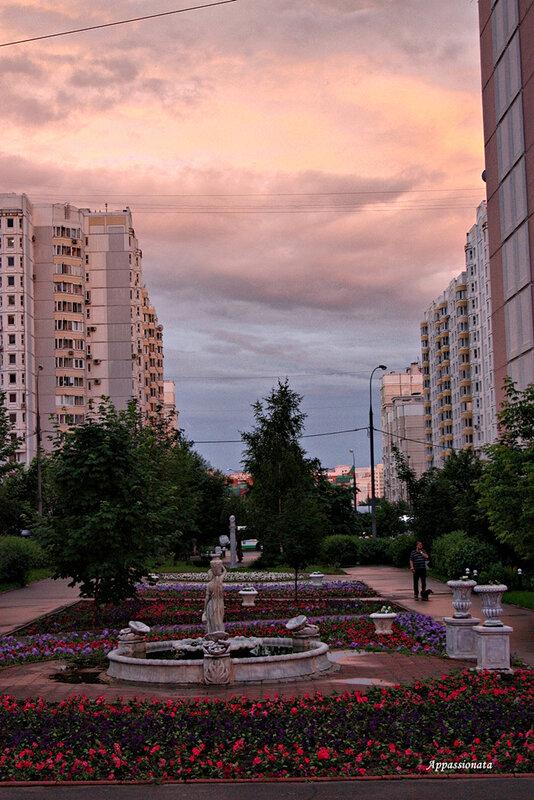 Москва - после дождя