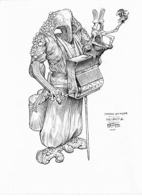 Неведомые миры Уэйна Дугласа Барлоу / Wayne Douglas Barlowe. #1