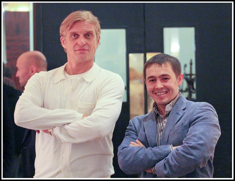 Олег Тиньков и Олег Грибанов