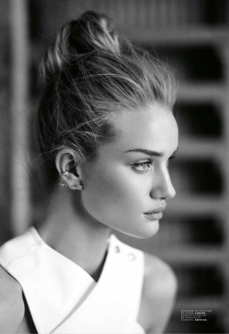 Рози Хантингтон-Уайтли в майском выпуске Jalouse 2014