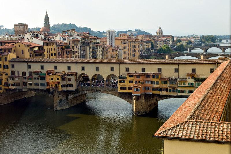 Дальше было возвращение во Флоренцию