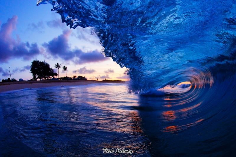 Красота Гавайских волн. Фотограф Nick Selway