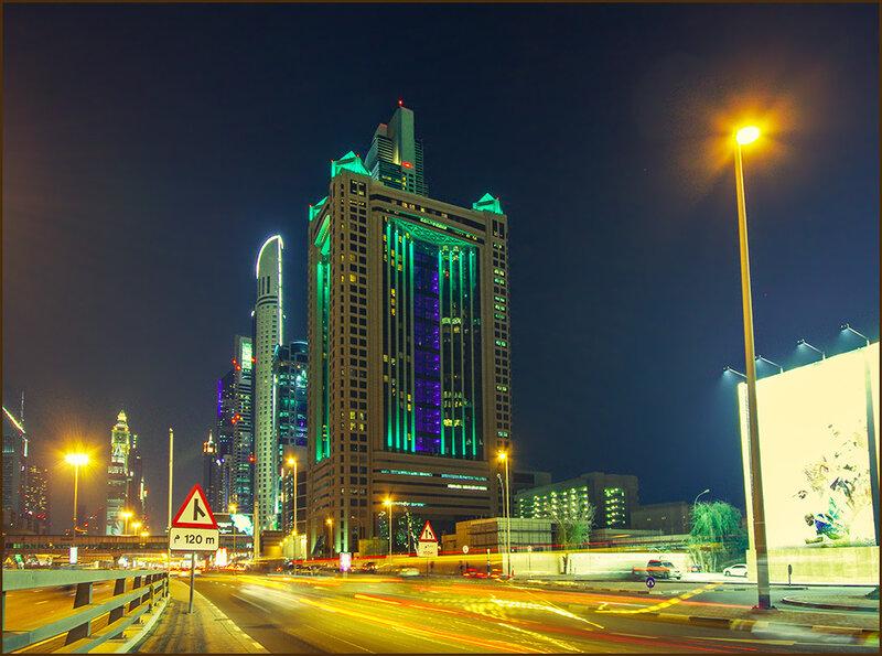 Вечер в Дубаи