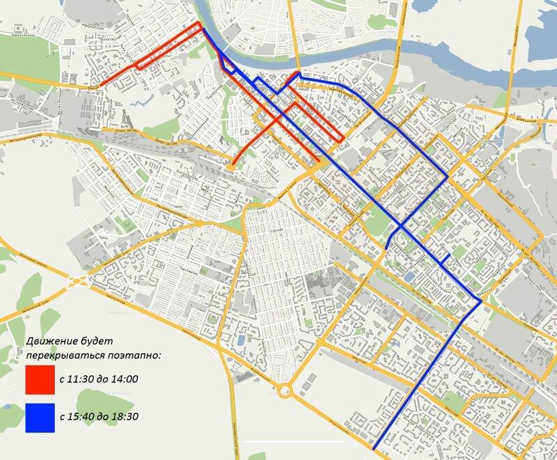 Какие улицы перекрывают из-за олимпийского огня 2