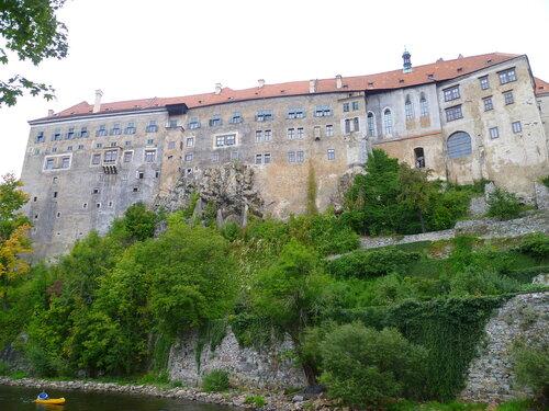 Чехия, Чески-Крумлов – замок (Czech Republic, Cesky Krumlov – castle)