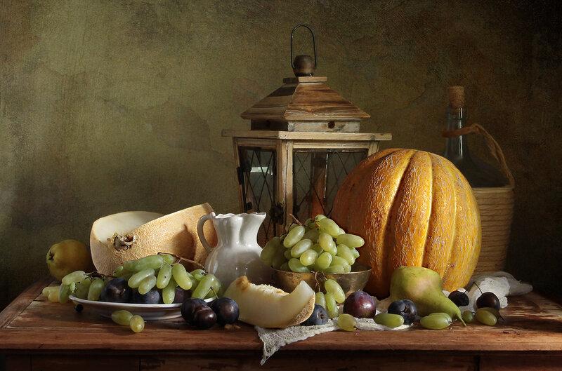Дыни и виноград. Вариант