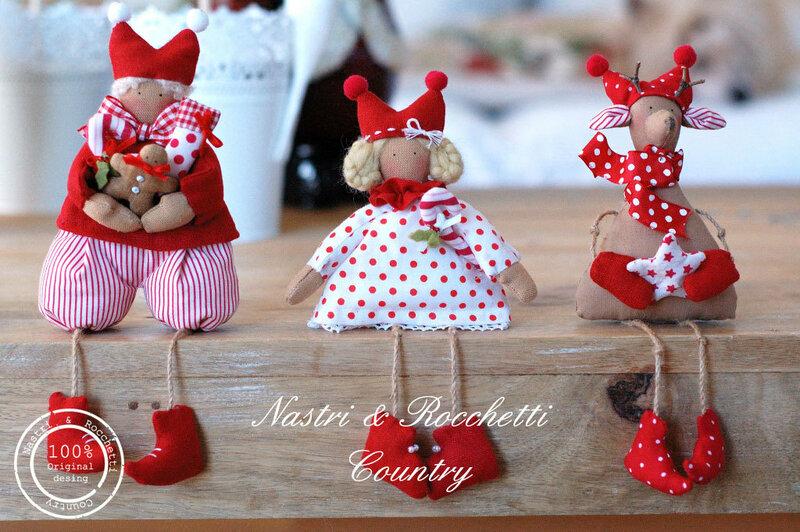 Новогодние украшения для кукол своими руками 27