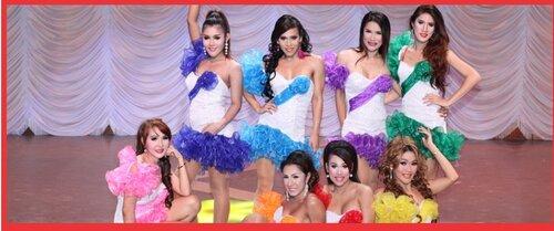 """Шоу транссексуалов """"Rosana"""" в Камбодже"""
