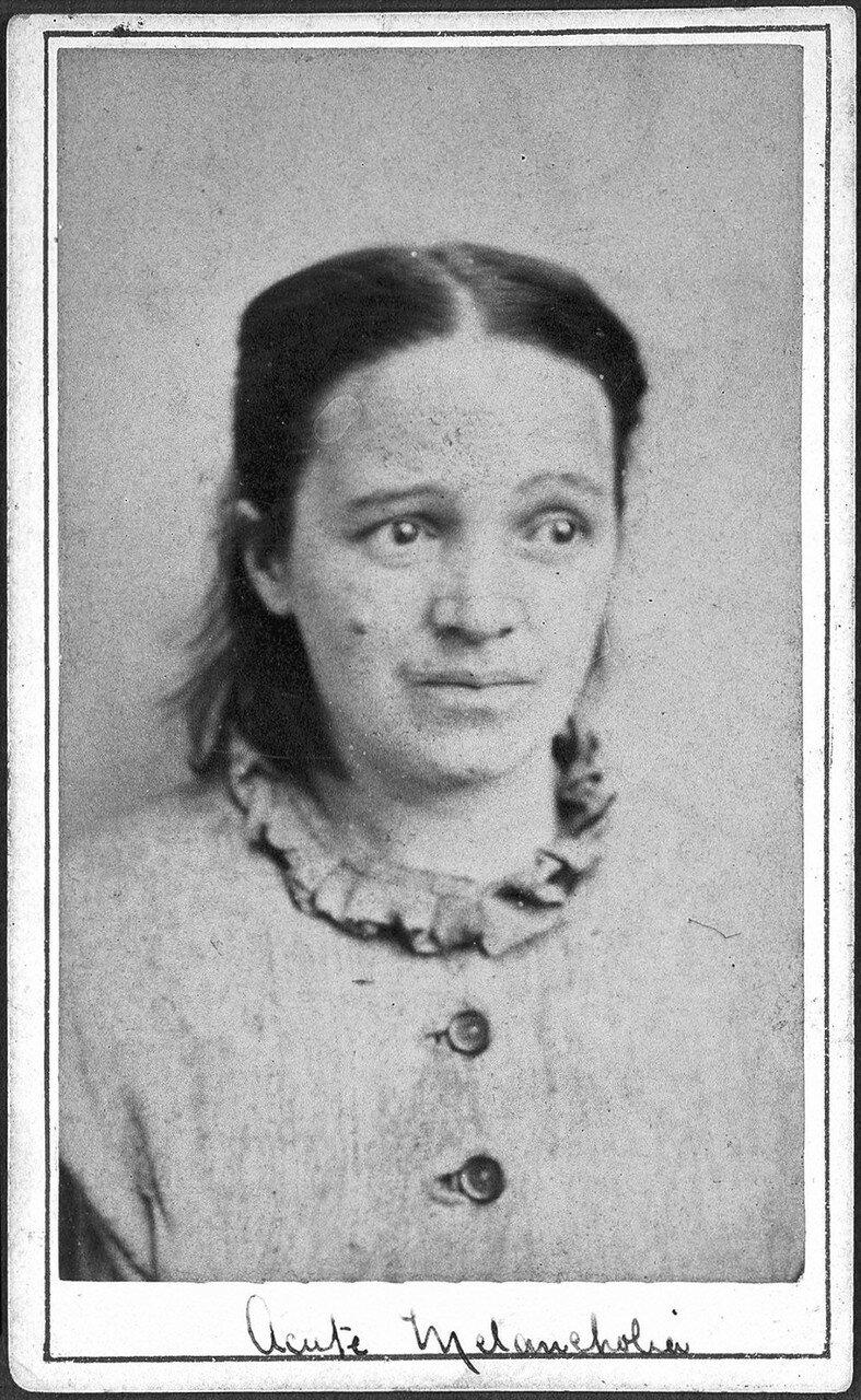 Женщина, страдающая от острой меланхолии, 1869