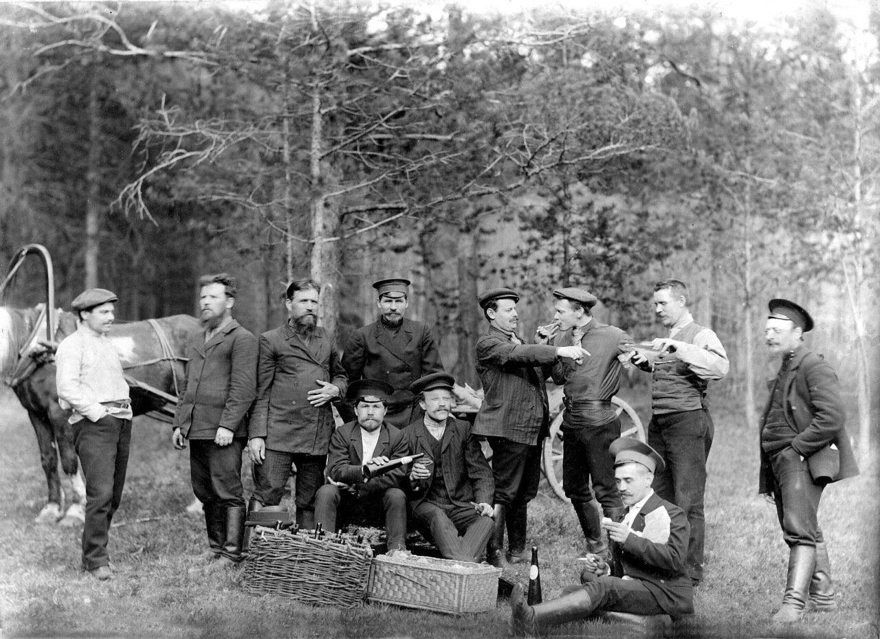 1900-е. Жители города на отдыхе.