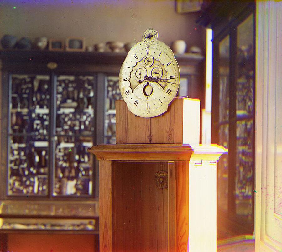 Часы работы Волоскова в Тверском музее. Лето 1910 года