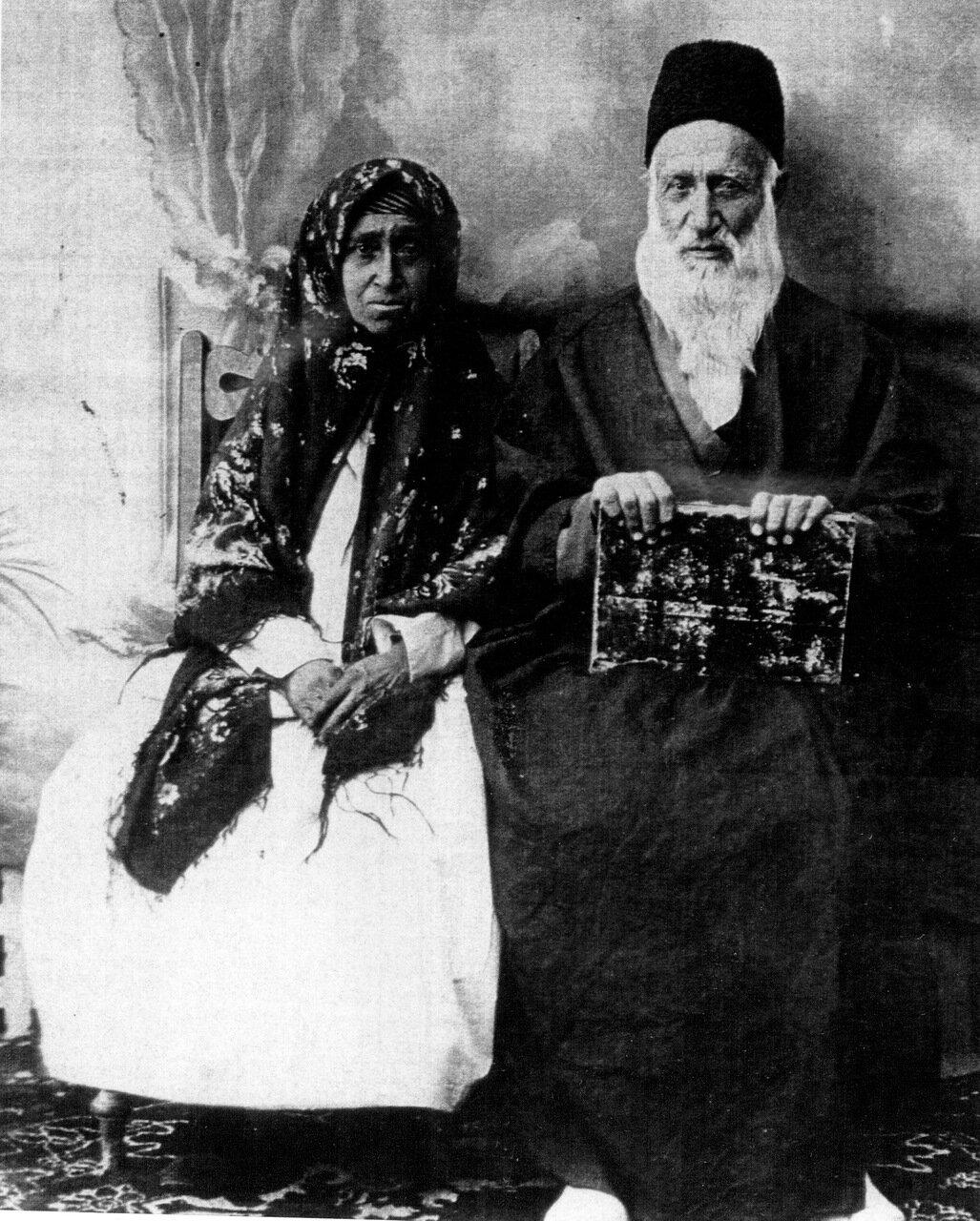 Алазар и Фарха Габбай, Исфахан, 1919