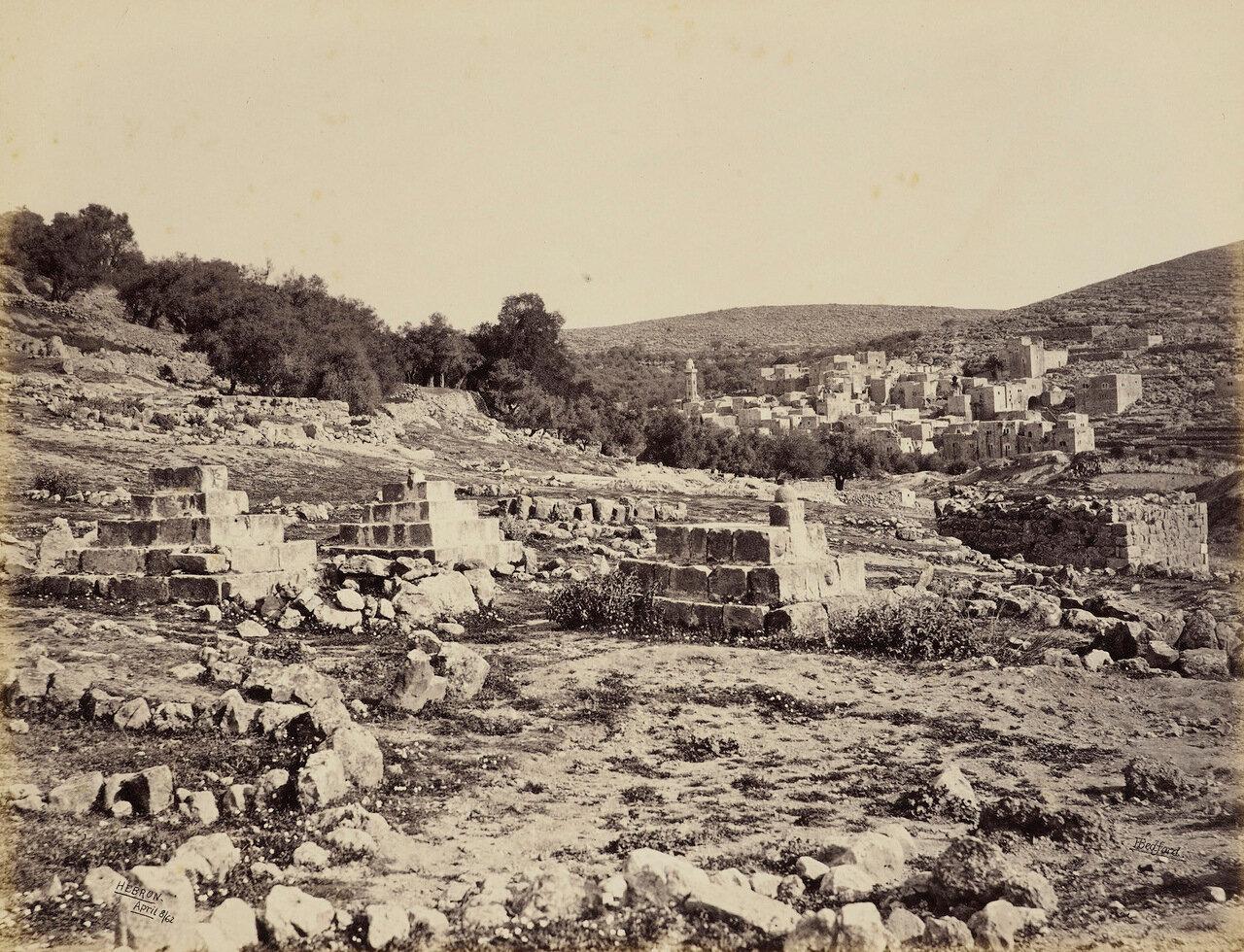 8 апреля 1862. Кладбище в Хевроне.