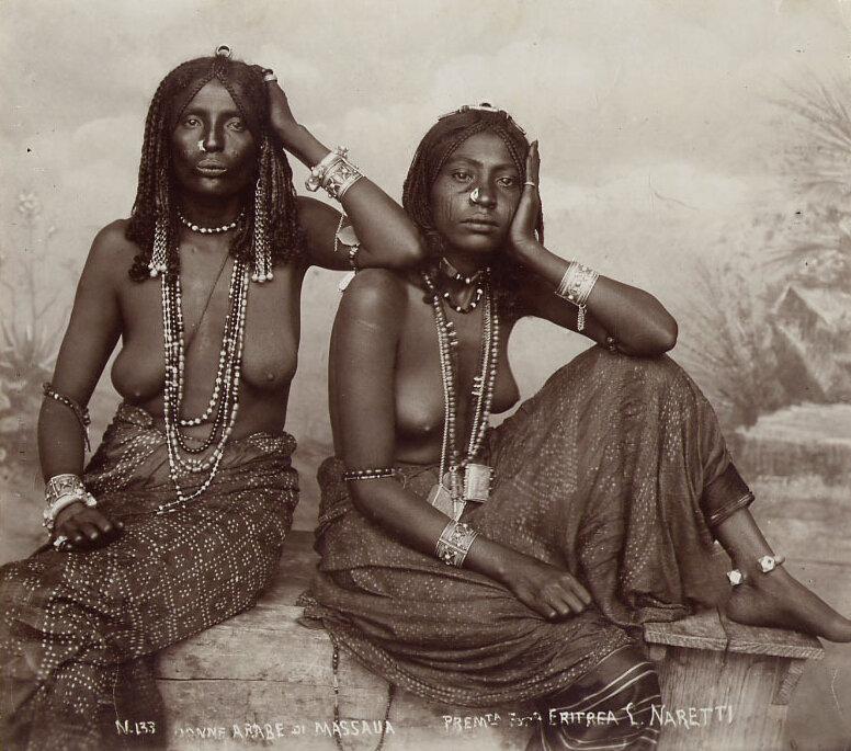 Эритрея, Массауа,последняя треть XIX века