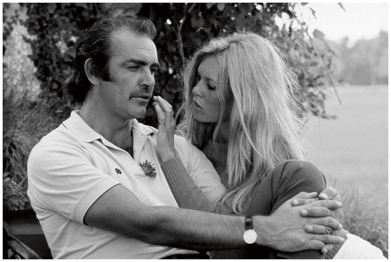 1967. Шон Коннери и Бриджит Бардо