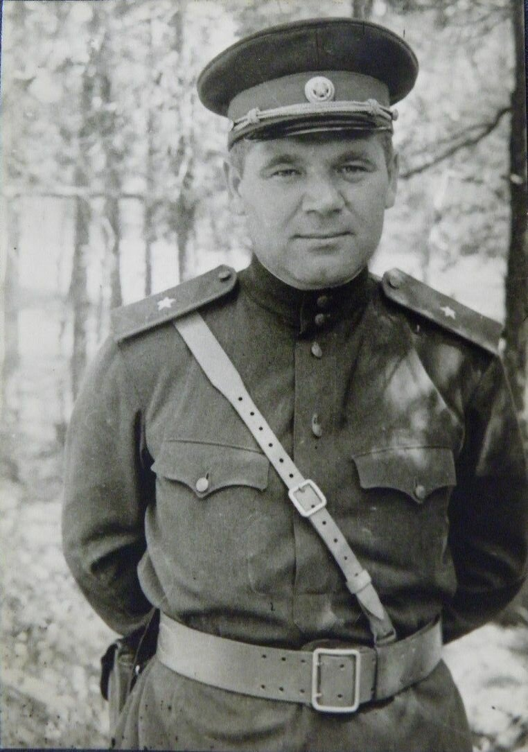 Бегла В.А. Командир Ровненского партизанского соединения