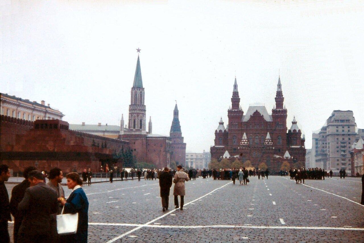 MOSCOU - Place Rouge - Le musée d'Histoire (1881)