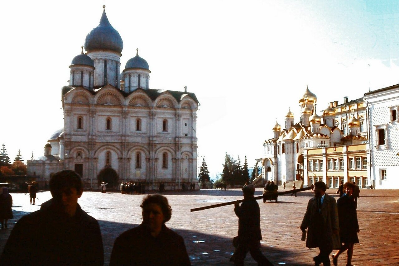 MOSCOU - Une cathédrale à l'intérieur du Kremlin