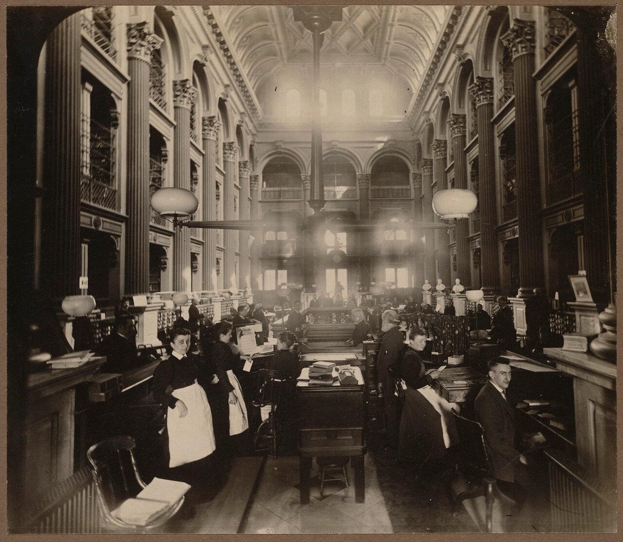 Бостонская публичная библиотека, Бойлстон-стрит. Зал Бейтса
