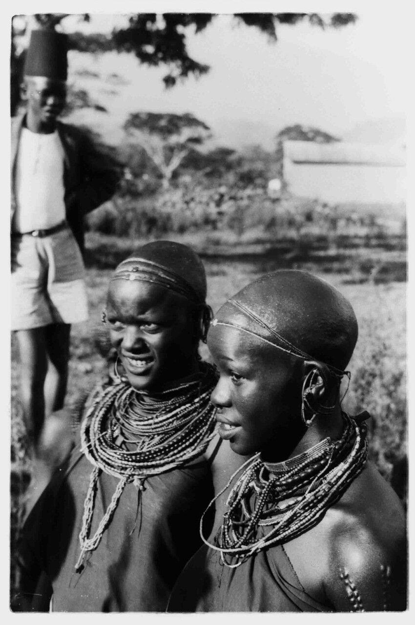 1900. Масаи