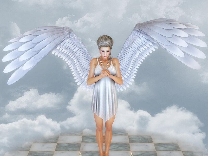 картинки с настоящими ангелами позже