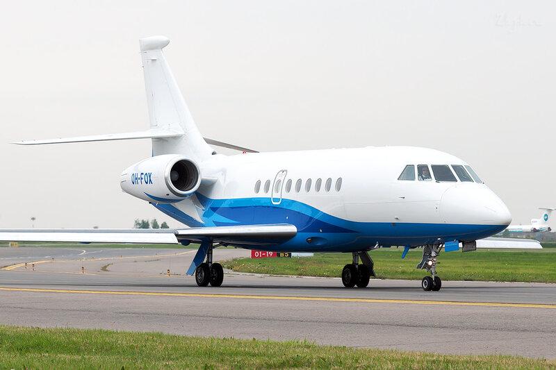Dassault Falcon 2000EX (OH-FOX) Airfix Aviation DSC2092