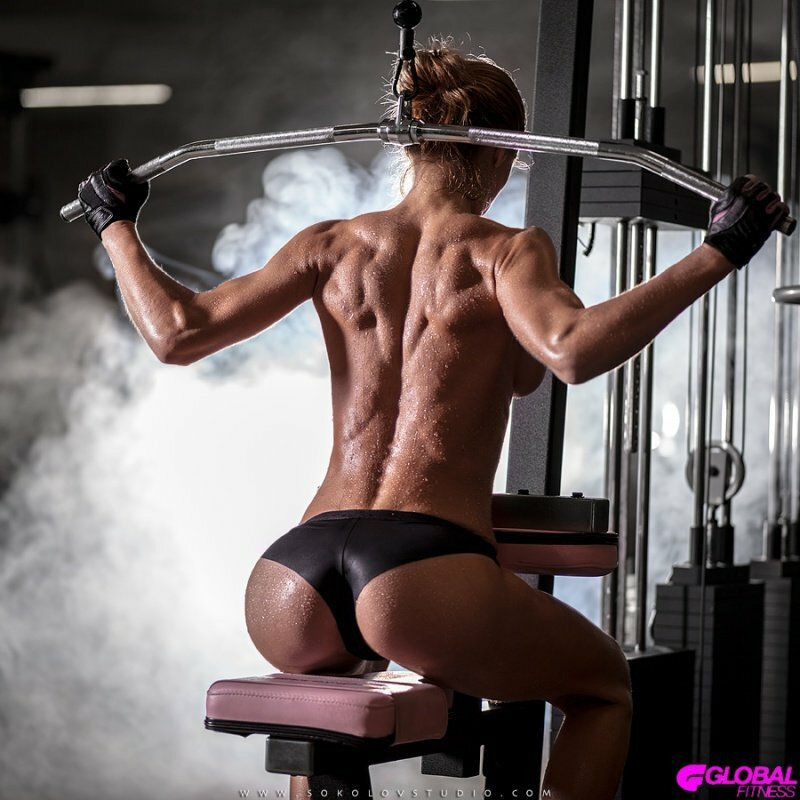 фитнес голые фото
