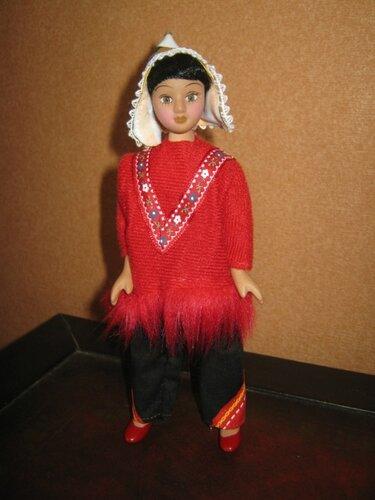 Куклы в Костюмах Народов Мира №43 - Перу