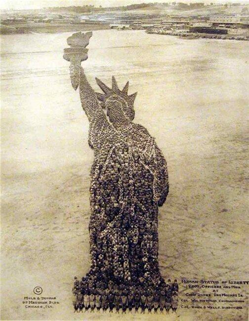 Живые фотографии (фото из людей) начала 20 века