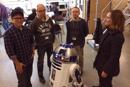 Робот для седьмого эпизода построен фанатами «Звёздных войн»
