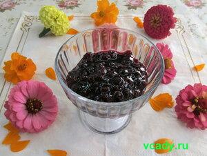 конфитюр из малины и черной смородины
