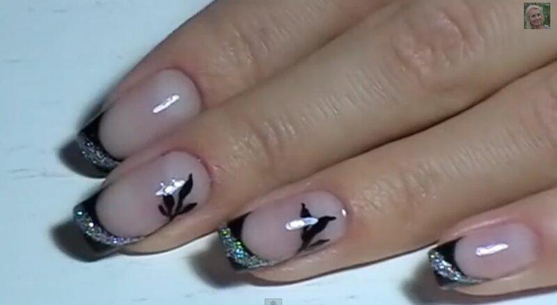 дизайн ногтей светлый: