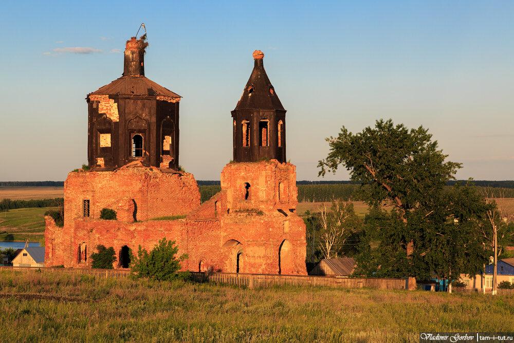 Ромодан, церковь Смоленской иконы Божией Матери