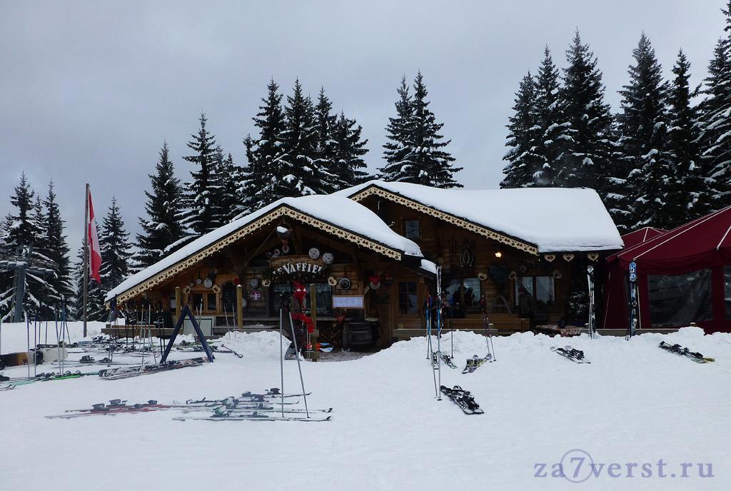 Горно-лыжный курорт Ле Же, Франция