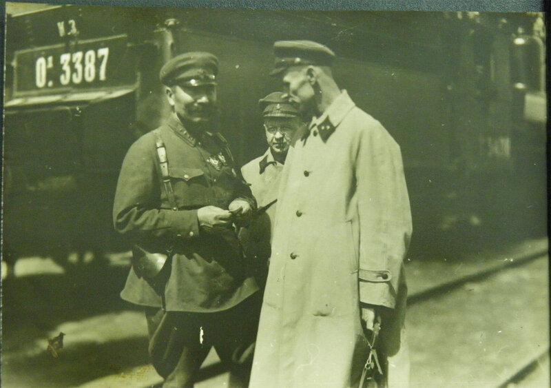 С.М.Будённый в Киеве, 1932 год.
