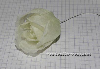 Роза из ткани своими руками, выкройка (схема) розы