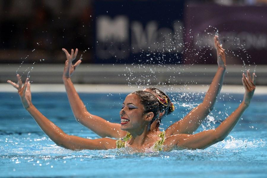 Эффектные фотографии с чемпионата мира по плаванию в Испании