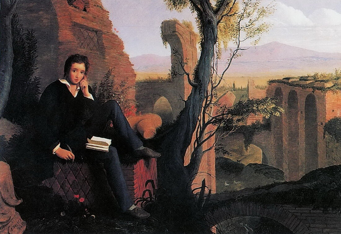 a comparison of ode to the west wind by percy bysshe shelley and ode to a nightingale by john keats