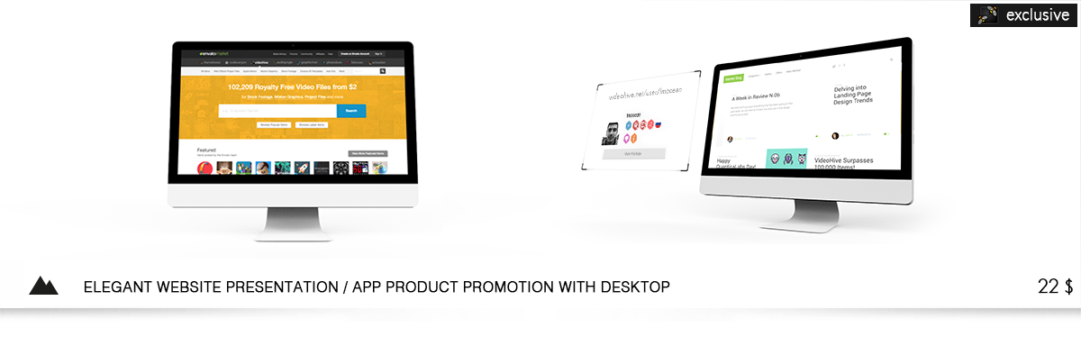 Phone & Tablet - Web / App Product Promotion - 4