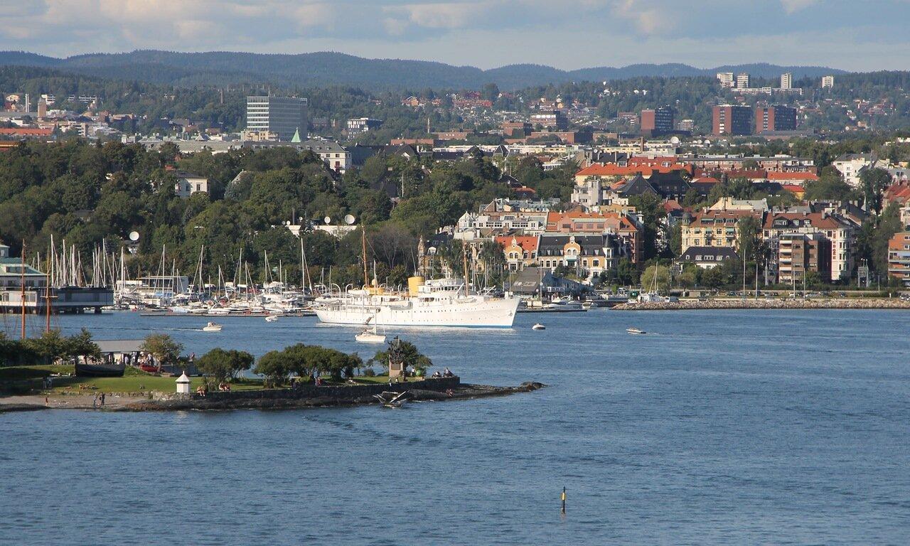 Oslo. Oslofjord