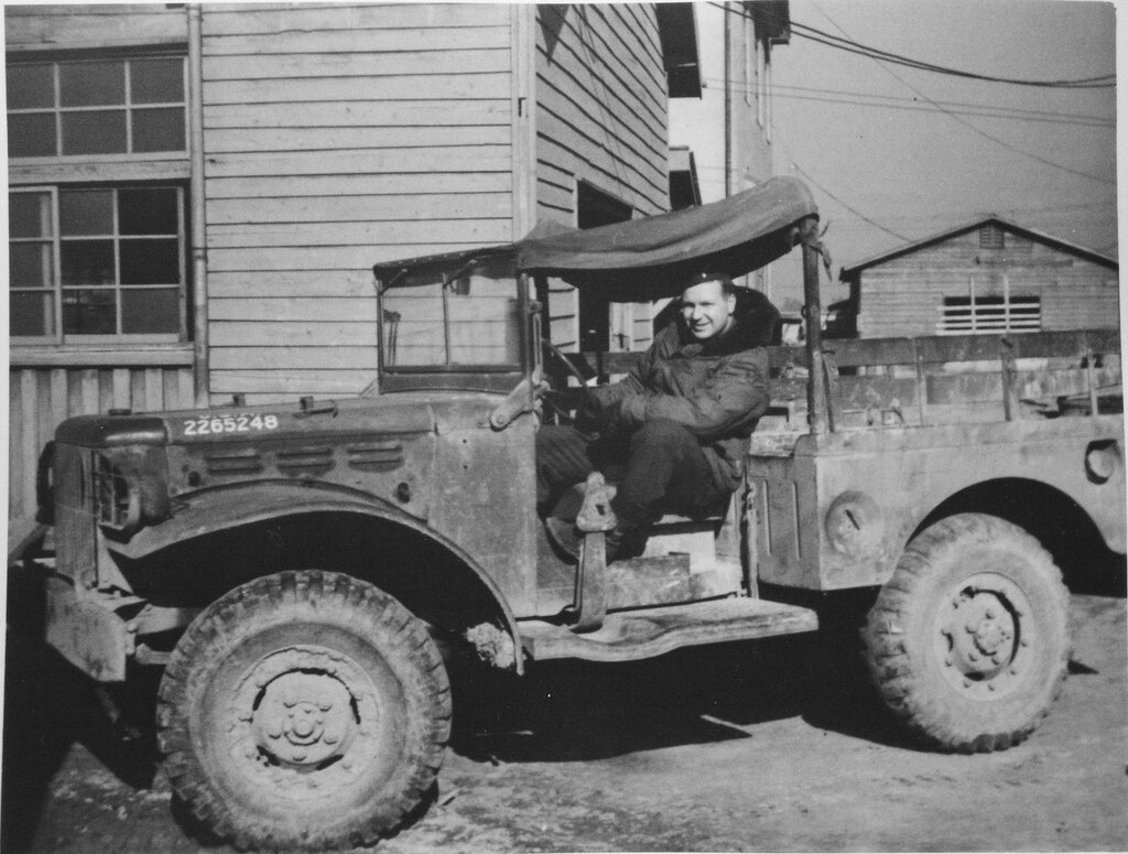 Weapons Carrier, Fukuoka Base II, Feb 1946