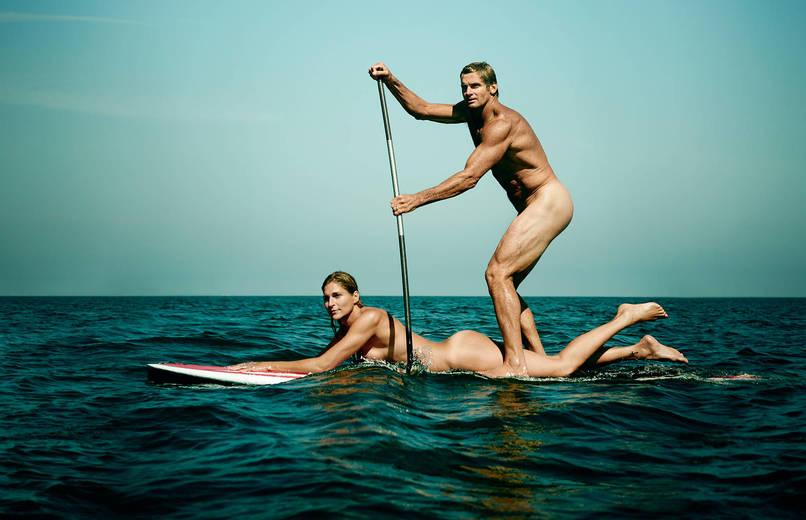 Как выглядят спортсмены без одежды