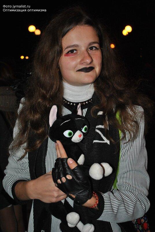 хэллоуин в луганске нечисть тыквы маскарад