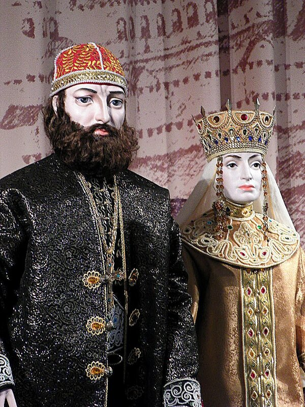 Великий князь Иван III и Софья Палеолог