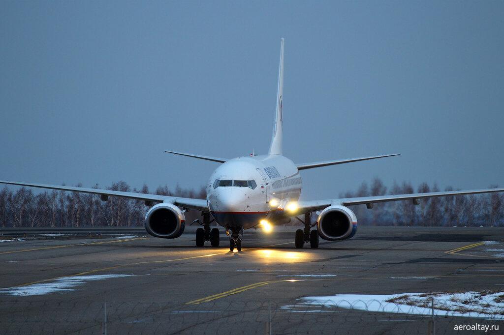 Рейс Orenair 5806 прилетел из Москвы в Барнаул