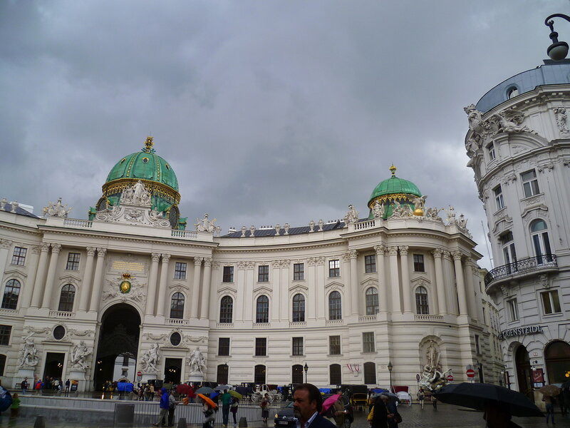 Вена, дворец Хофбург (Vienna, the Hofburg)